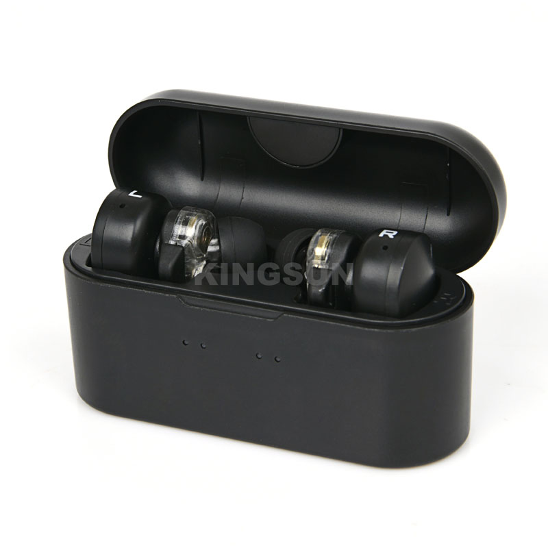Touch Control TWS Bluetooth Earbuds with Dual Driver