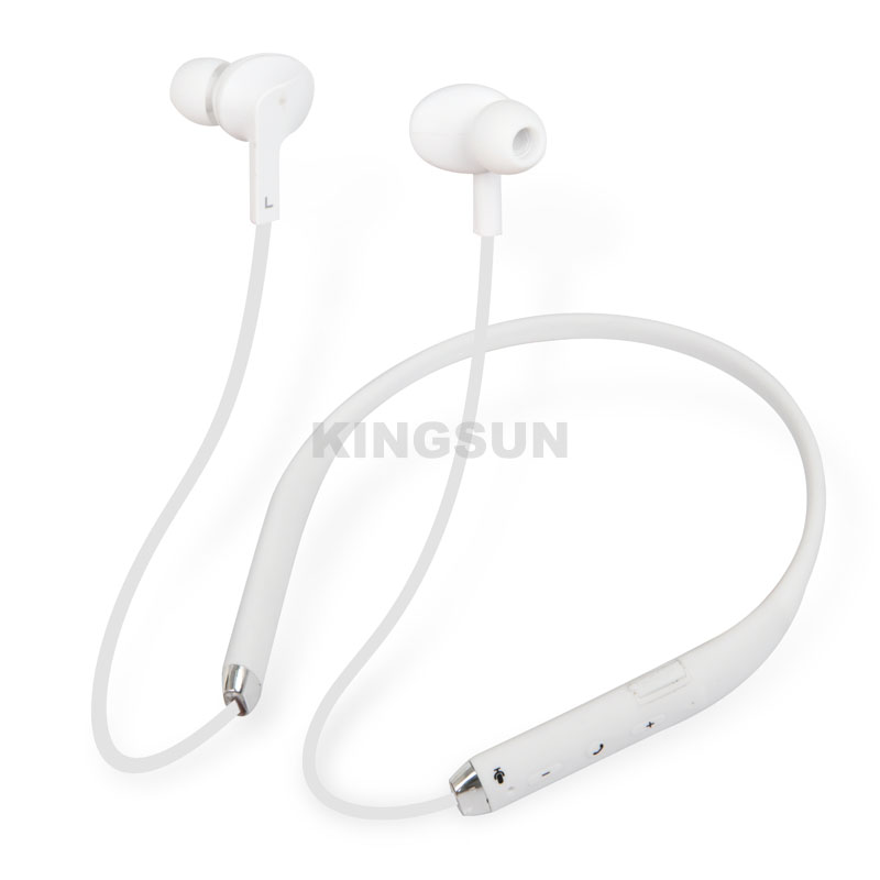 5.0 Bluetooth running silicon IPX4 waterproof sport earbuds